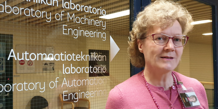 Professional Behind Professionals – Principal Lecturer Merja Mäkelä Supporting Ontec