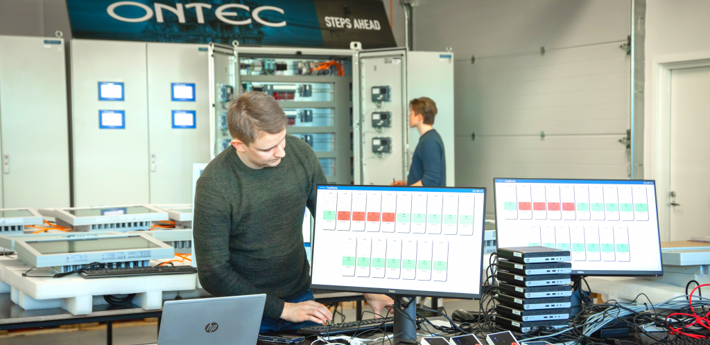 Ontec's busy spring